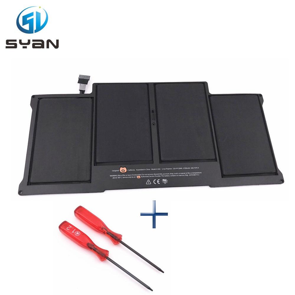 A1405 battery for font b Macbook b font Air 13 3 laptop A1369 A1466 Battery MC504