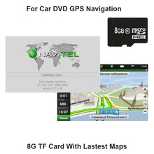 Lastest Version WinCE/Android Version 8GB Card For Navitel Russia,Russian.Belarus for Car DVD GPS Player  Portable Navigator