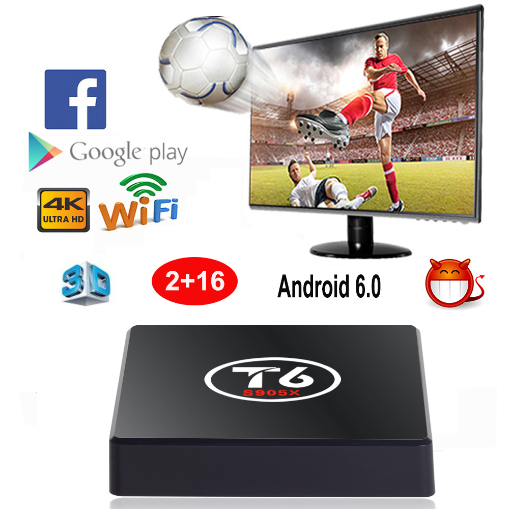XGODY T6 Smart TV Box Android 6.0  Amlogic S905x Quad Core 2GB 16GB Wifi HD 4K KODI 16.1 Internet Media Player PK X96 KM8 Pro штукатурка декоративная vgt фактурная вгт ведро 9кг