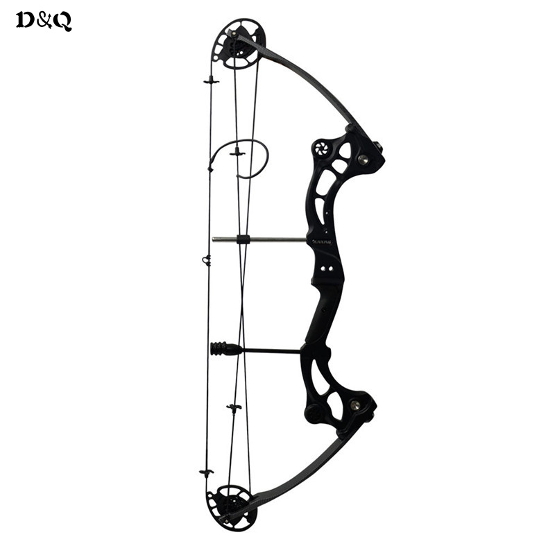 Competition Archery Compound Bow 40-60lbs for Adult Hunter Hunting Shooting Sports Games Aluminum Bow Slingshot IBO 300 fps soft arrowhead 20lbs camouflage archery cs game compound bow slingshot take down bow for hunting shooting practice games