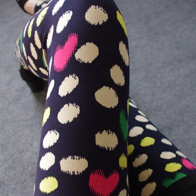 Sexy Women Thin Stretch Leggings Graffiti Printed Slim Skinny Leggings font b Fitness b font legging