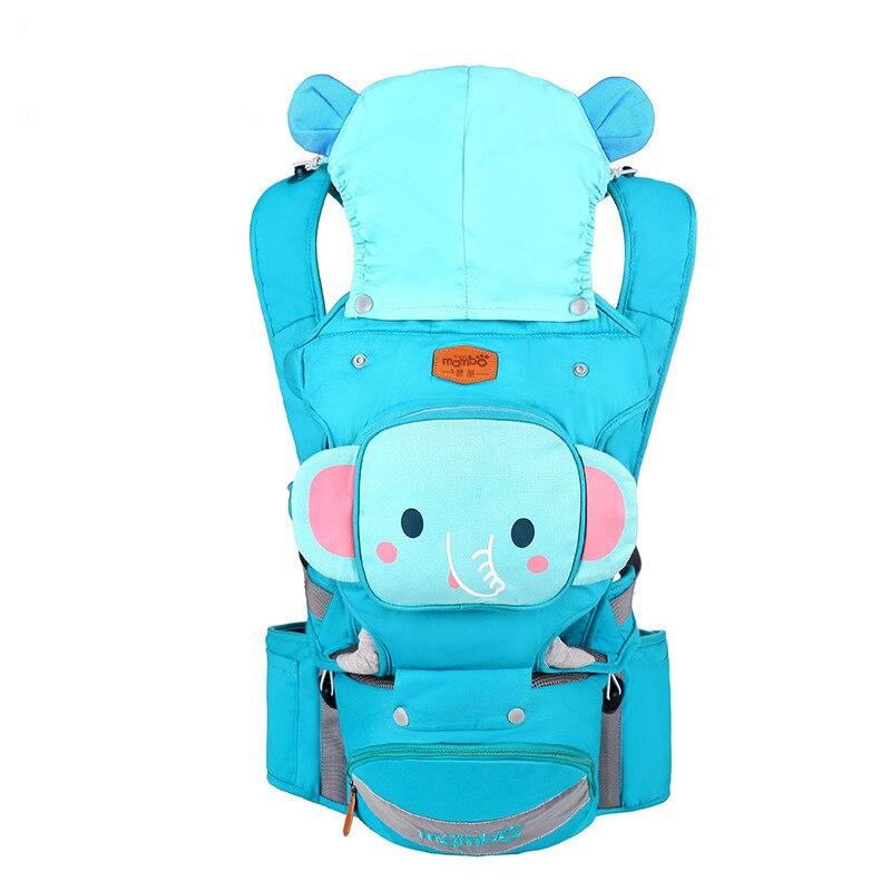Nouveau multifonctionnel qualité porte-bébé Spandex avec Mini sac mignon dessin animé bébé fronde sac à dos marque amovible enfants Hipseat