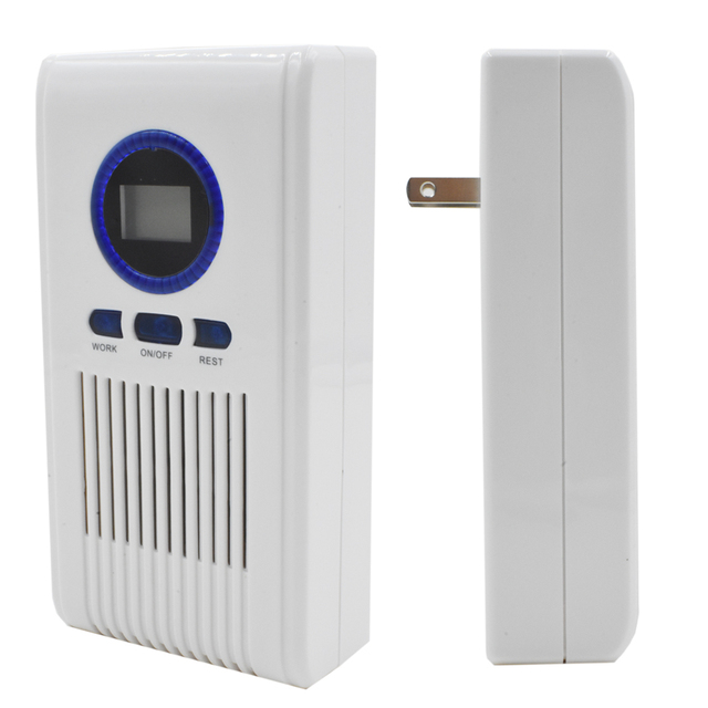 US $589 0 5% OFF|For Distributor Restroom Ozone Deodorizer Ozone Yield  100mg/h with Cycle Working Timer + LED 40pcs Start + Free Shipping -in Air