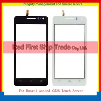 Original For Huawei G600 U8950 Touch Screen Digitizer Outer Glass Sensor Black White Free Shipping Tracking