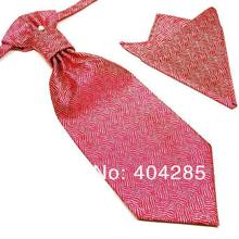 neck tie set necktie ascot hanky men's ties sets Handkerchiefs Pocket square tower cravat