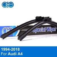 Oge Pair Windscreen Wiper Blades For Audi A4 B6 2000 2001 2002 2003 Fit Windshield Solf