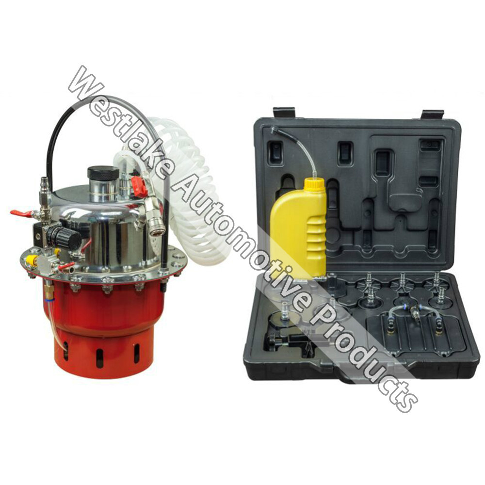Pneumatic Pressure Bleeder Tool Set Brake And Clutch Bleeding System Tool Brake Bleeding Machine new arrival autool bx402 automatic brake fluid bleeder brake bleeding tool for 12v cars