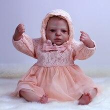 OtardDolls bebe Reborn Doll soft Vinyl Newborn Toys Realistic 20 Inch Baby Boys Gifts Educational Boneca Children