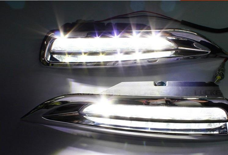 Бесплатная доставка для Mazda 6 2009 2013 автомобиль конкретных светодиодные фары СИД DRL Мазда 6-ядерник 2012 светодиодные дневные ходовые свет