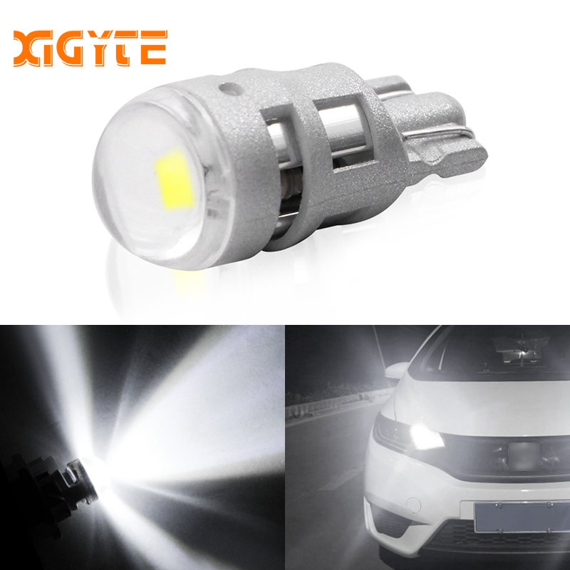 1pcs Super Bright Led T10 W5w Car Lamp 1 Smd 3030 Auto Reading Parking Fog Marker Rear Light 152 194 12v White Car Accessories