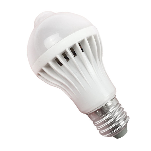 Superieur Led Sound Sensor Bulb Sound And Light Control Bathroom Staircase Corridor  Intelligent Light Bulb White