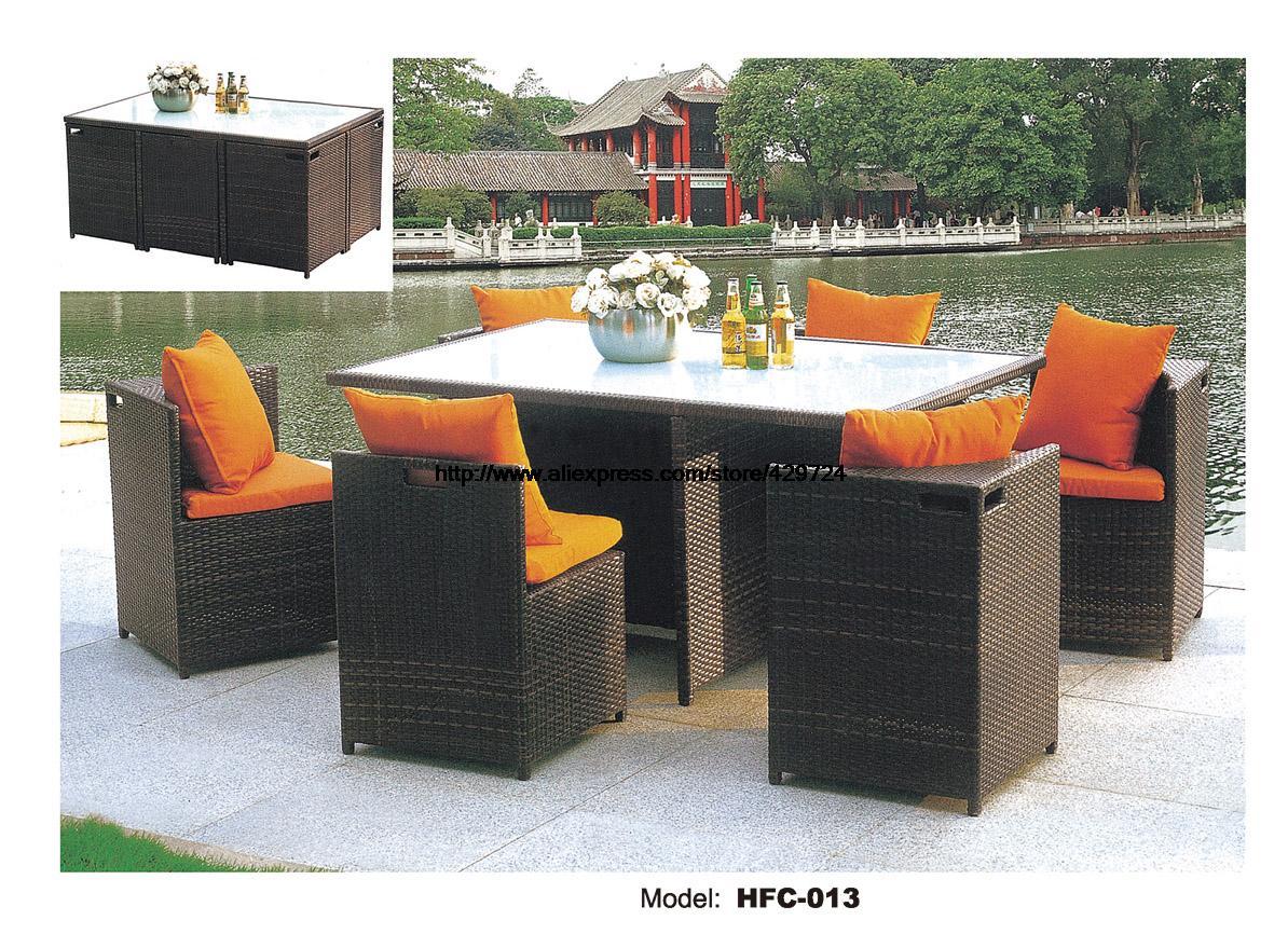 creativo silla de mimbre de ratn ourdoor sillas mesa de escritorio balcn combinacin muebles de exterior sillas de ocio conjun