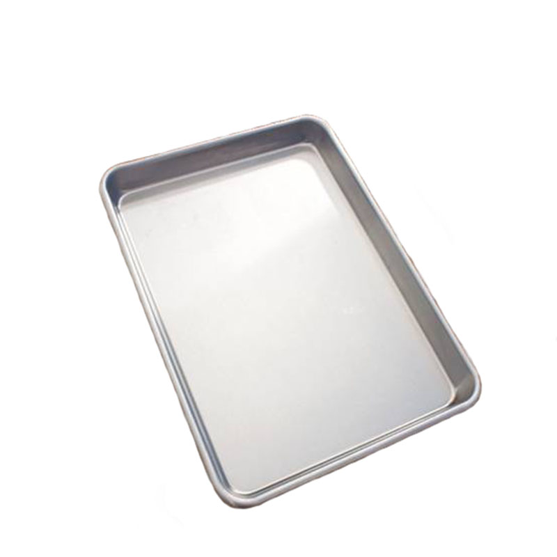 Baking Tray Rectangle Oven Baking Form Aluminium Cake Pan S/L Size Non-Stick Biscuit Cookie Macaroon Pastry Tools Bakeware Set