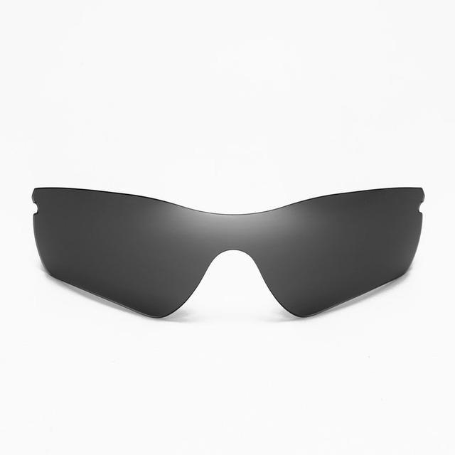 4a41a640f2 Walleva Non-Polarized Black Replacement Lenses for Oakley Radar Path  Sunglasses