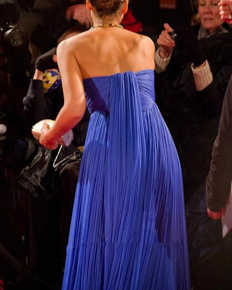8ebbcc9a4f2 2017 Royal Blue Empire Maternity Evening Dresses Sweetheart Ruched Tulle Celebrity  Formal Night Gowns For Pregnant Women Elegant-in Evening Dresses from ...