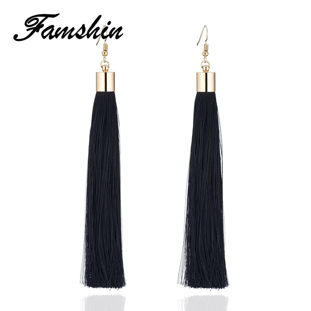 FAMSHIN 17 Color Hot Fashion Vintage Earrings For Women Jewelry Earrings Ancient