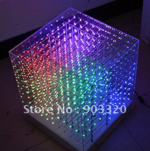 led cube light 3d cube light for advertising dj party show led display