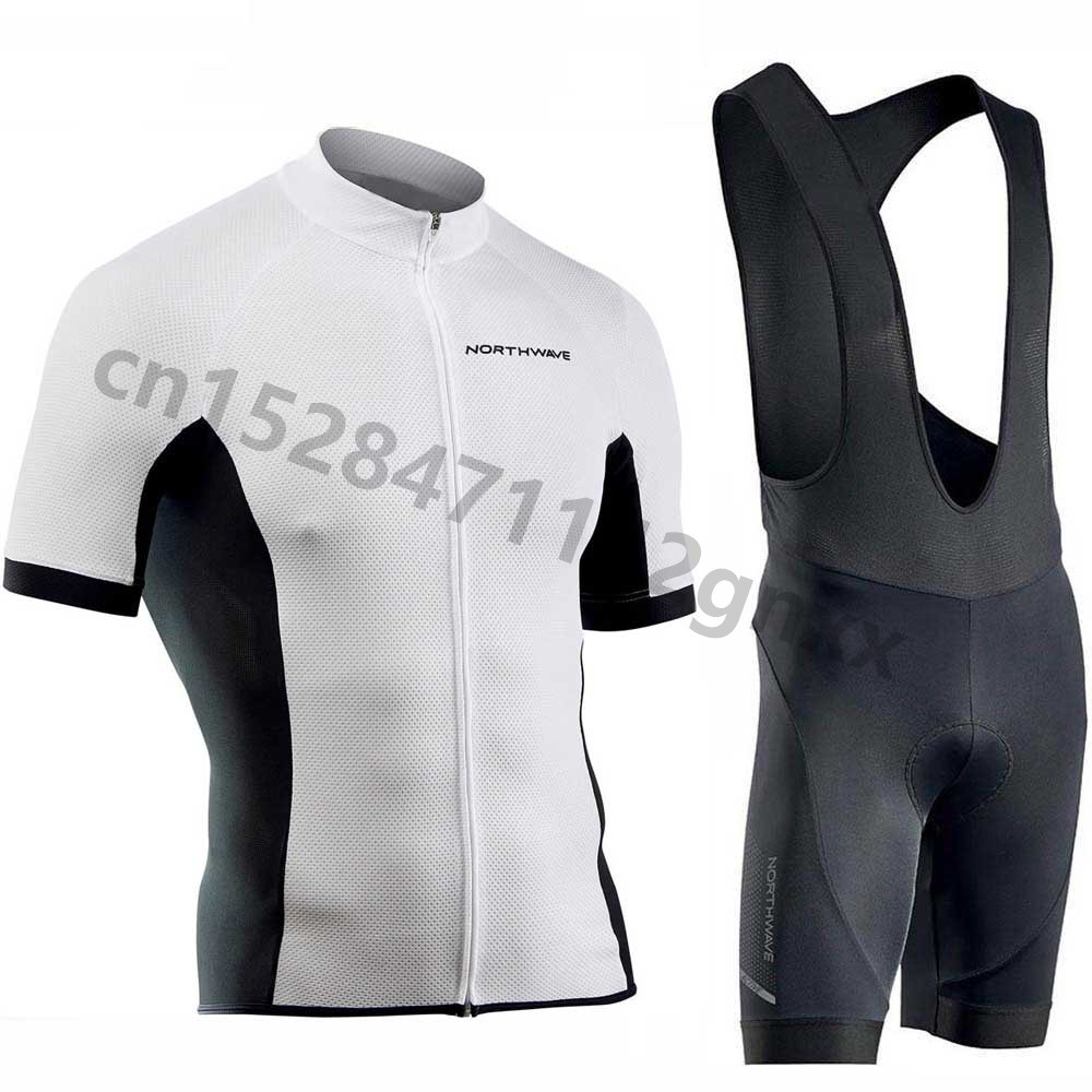 NW Northwave Summer Cycling Jersey Set Breathable MTB Bicycle Cycling Clothing Mountain Bike Wear Clothes Maillot Ropa Ciclismo in Cycling Sets from Sports Entertainment