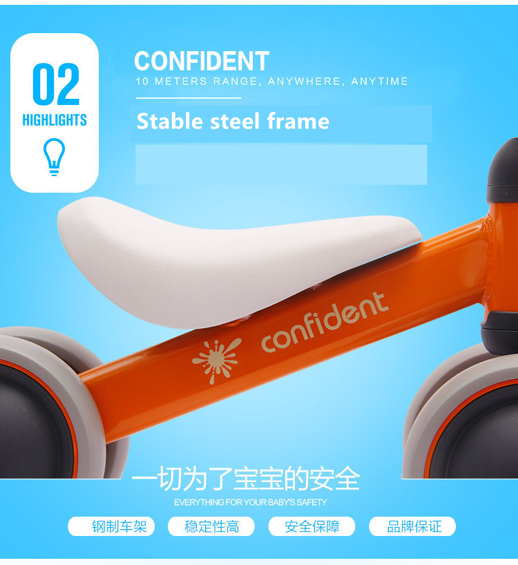 HTB16lE3aN685uJjSZFHq6A49pXaa New brand children's bicycle balance scooter walker infant 1-3years Tricycle for driving bike gift for newborn Baby buggy