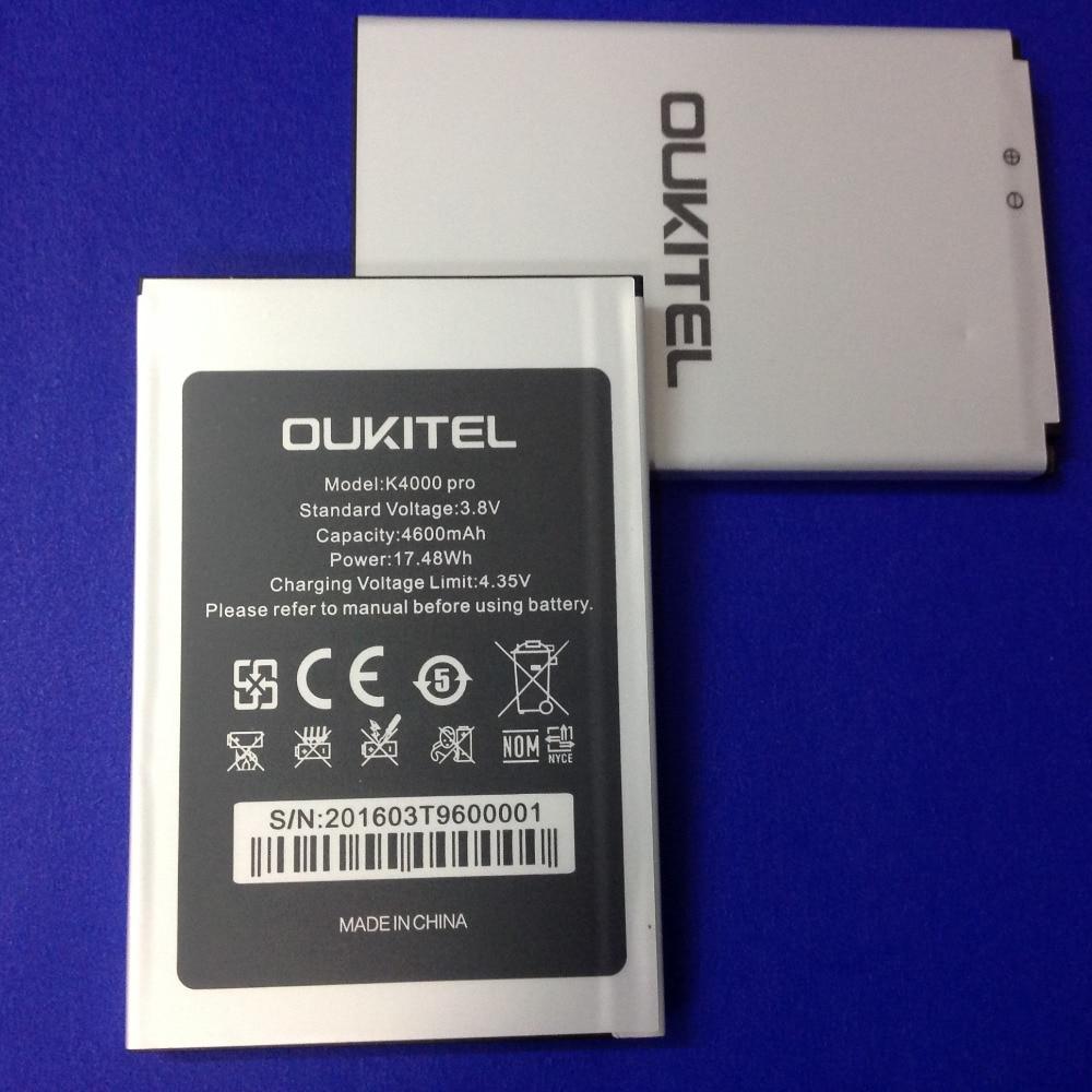 Ocolor pour Oukitel K4000 Pro Batterie De Secours Pour Oukitel K4000 Pro Mobile Téléphone