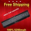 5200 MAH Laptop Battery For Toshiba PA5024U-1BRS PABAS260 PABAS259 PABAS261 PABAS262 PA5023U-1BRS PA5025U-1BRS PA5026U-1BRS