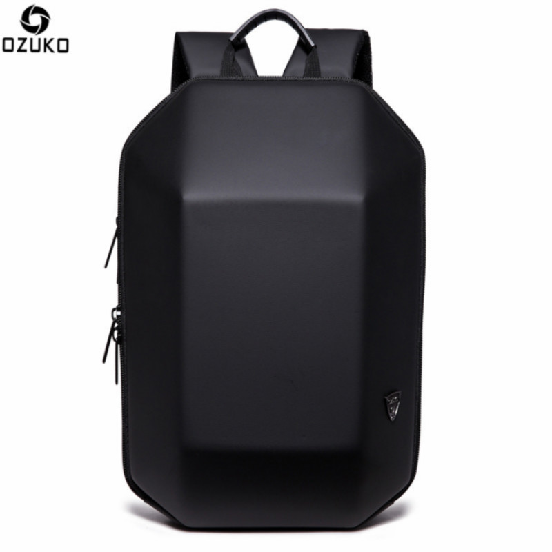 OZUKO Men Backpack For 15.6 inches Laptop Backpack Mochila Large Capacity Anti theft Bag Water School Backpack ozuko 14 inch laptop backpack large capacity waterproof men business computer bag oxford travel mochila school bag for teenagers