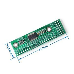 Image 3 - 10 יח\חבילה MCP23017 I2C ממשק 16bit אני/O הארכת מודול פין לוח IIC כדי GIPO ממיר 25mA1 כונן כוח אספקת עבור Arduino