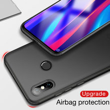 Matte TPU Cover Case For Xiaomi Mi 8 Lite SE 5x A1 6X A2 Lite Max 3 Airbag Cases Redmi Note 5 Case 6 Pro 6A S2 4X 4 4A 5A 5 Plus(China)