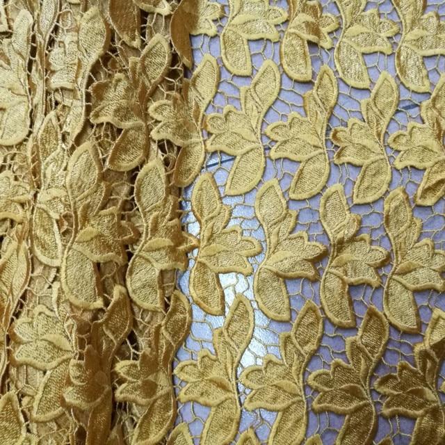 Tão pesado de boa qualidade e preço barato pure color design diário vestido laço material PW142, Frete Grátis Cabo Africano tecido de renda