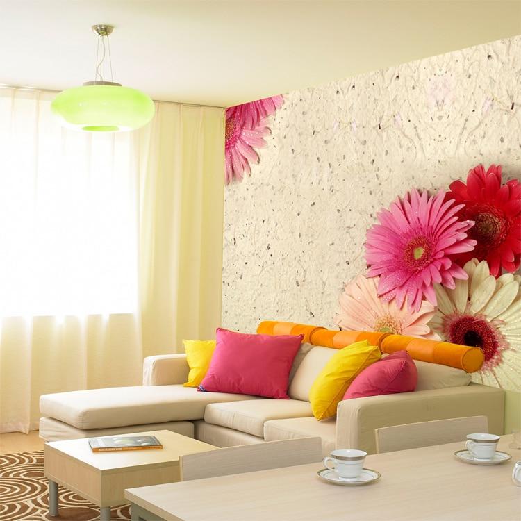 Custom 3D stereoscopic large mural wallpaper romantic European-style beach living room bedroom TV sofa backdrop wall paper