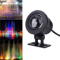 Подводный свет водостойкий 5 Вт RGB светодиодный свет фонтан бассейн пруд прожектор подводный светильник с пультом дистанционного управлени