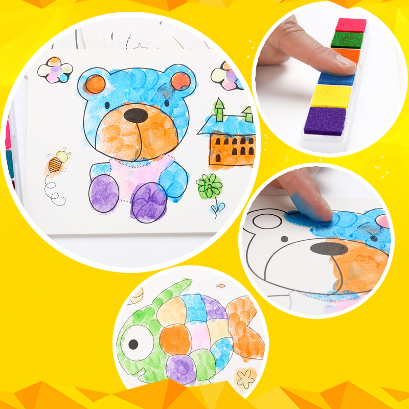 8pcslot-Kids-Toy-Anime-Drawing-Set-Cards-Stickers-Diy-Coloring-Books-for-Kids-Water-Drawing-Book-Hand-Spinner-Toys-for-Children-4