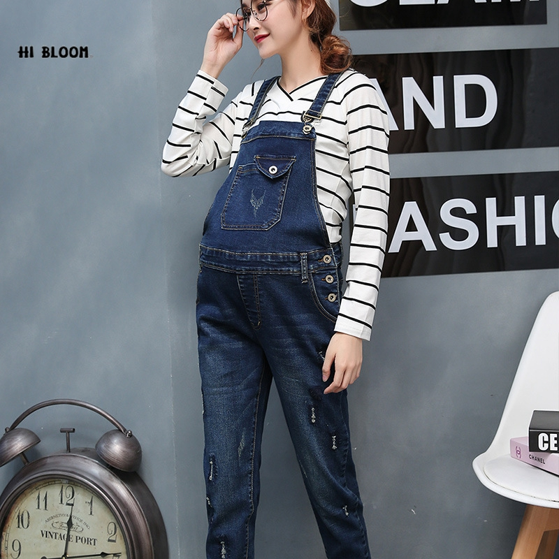 Spring Trousers Maternity Jeans Pants Gravida Clothing Dungarees Pregnancy women Clothes Bib overalls Size 3XL Salopette femmel colorful brand large size jeans xl 5xl 2017 spring and summer new hole jeans nine pants high waist was thin slim pants
