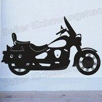 送料無料! [卸売小売]オートバイの取り外し可能なビニールアートウォールステッカーバイクステッカーM-338