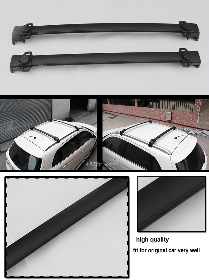 match for Mitsubishi ASX RVR 2010-2018 cross beam roof carrier cross bar. 7075 aviation aluminum alloy. made by ISO9001 factory