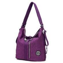 Модная Водонепроницаемая нейлоновая сумка через плечо, Женская многофункциональная сумка-слинг, женские сумки через плечо, женские сумки
