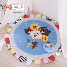 150X150cm Soft Hand Woven Round Carpets For Living Room Bedroom Cotton Rugs Home Carpet Floor Door Mat Decorate Area Rug