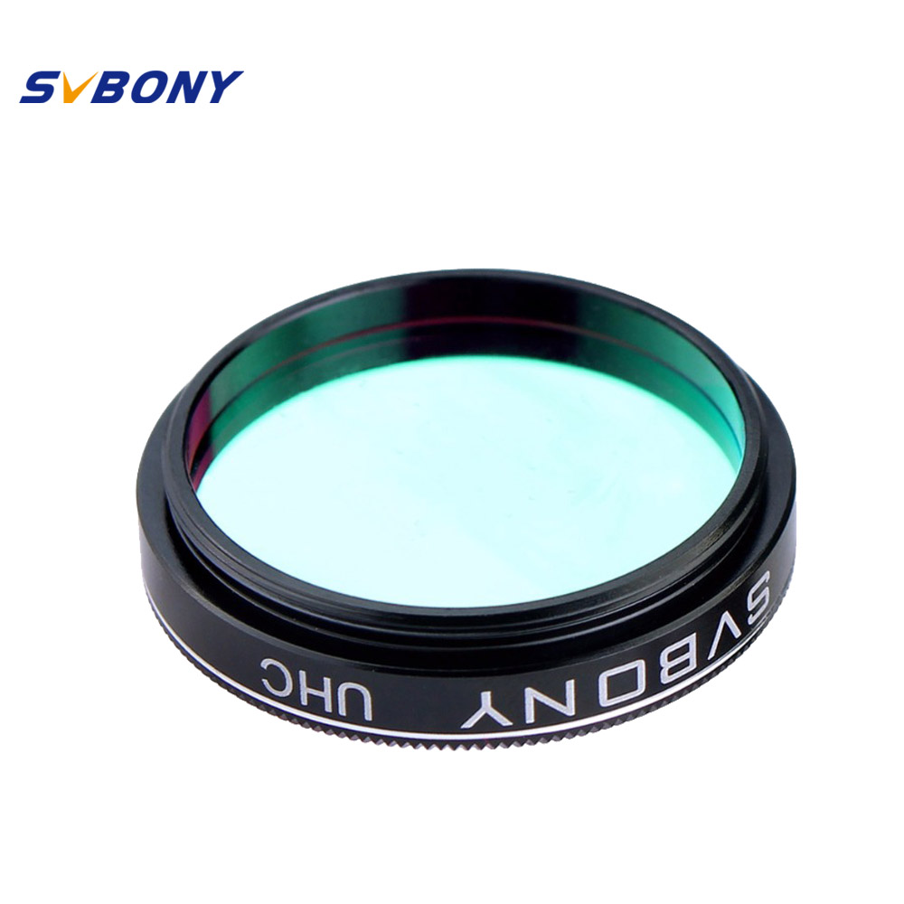 SVBONY UHC 1.25'' Filter for Astronomy Telescope Monocular Eyepiece Observations of Deep Sky Object F9131A an atlas of astronomy