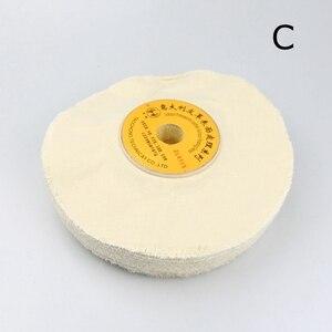 """Image 3 - 1 piece 10"""" Leather Surface Finishing Buffing Wheel Cloth Polishing Wheel"""