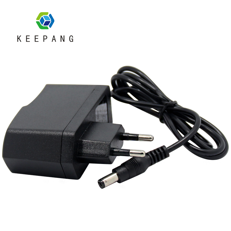5pcs/Lot Power plug AC 100V-240V Converter Adapter DC 9V 1A Power Supply EU Plug DC 5.5mm x 2.1mm 1000mA for Arduino UNO MEGA