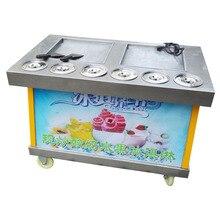 Коммерческая машина для приготовления мороженого Жареная Машина Для Мороженого 110 В
