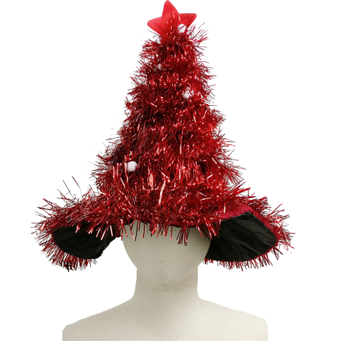 Christmas Tree Hat Creative Madder Hat Xmas New Year Party Prop Decoration