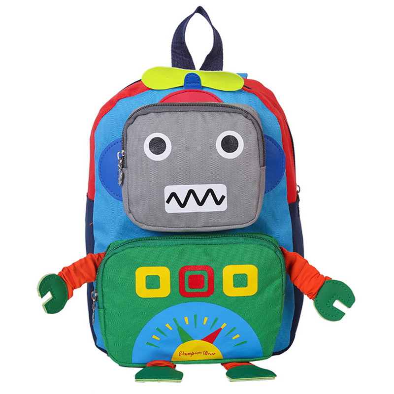 91fe5188d573 Detail Feedback Questions about 2018 Kids Backpack Cute Robot School Bags  For Boys Girls Satchel Backpack Children Durable SchoolBag For Primary  School on ...