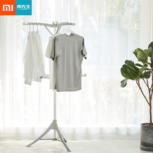 Simple Triangle Drying Rack Floor-standing Triangle Drying Rack Fordable Laundry Storage Clothes Hanger from Xiaomi youpin