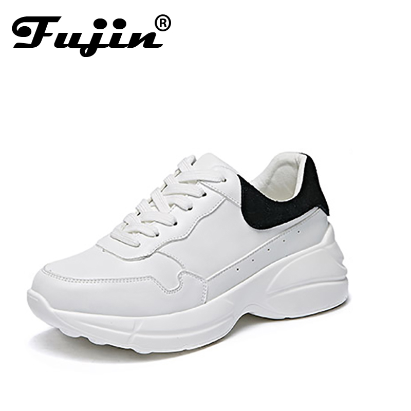 Fujin 2018 Outdoor street fashion casual new Sneakers Women mesh Breathable trainers Shoes walking driving Shoes Lightweight