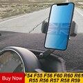 Автомобильный вращающийся держатель для мобильного телефона GPS навигационный кронштейн для MINI Cooper One S F55 F56 F60 R55 R56 R60 аксессуары для земляка