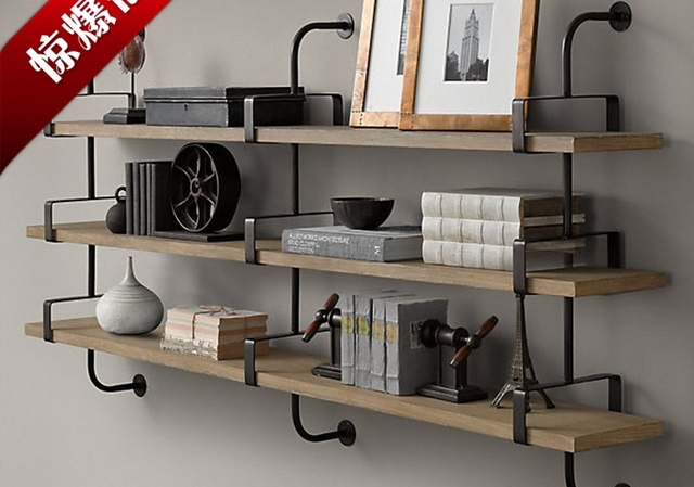 Magnifiek Closet planken houten muur plank Ijzer woord separator beugel FW89