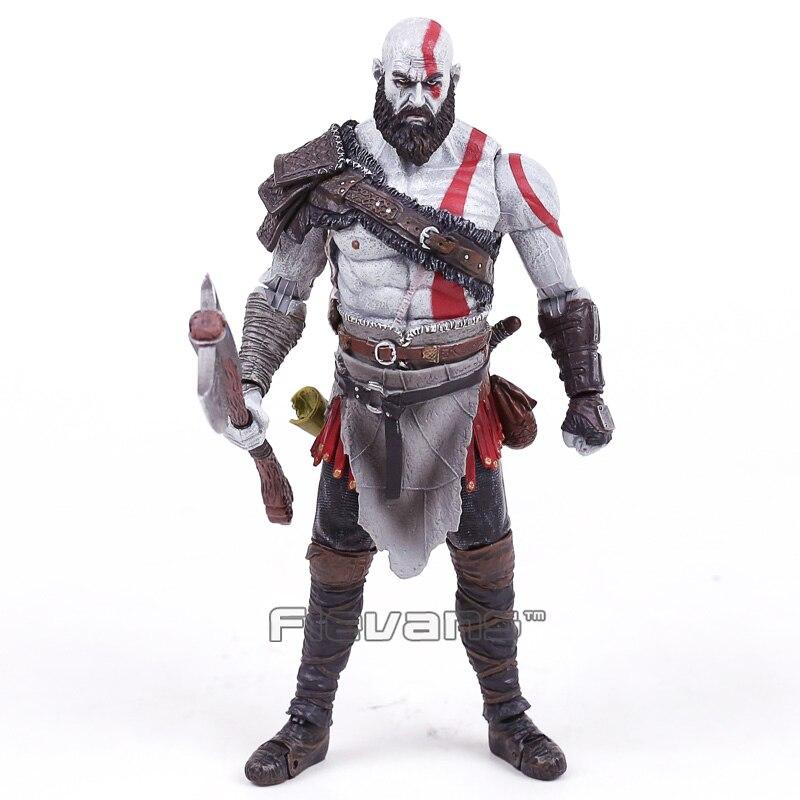 Di alta Qualità God of War 4, Kratos Action PVC Figure Da Collezione Model Toy in Sacchetto di OPP 18 cm