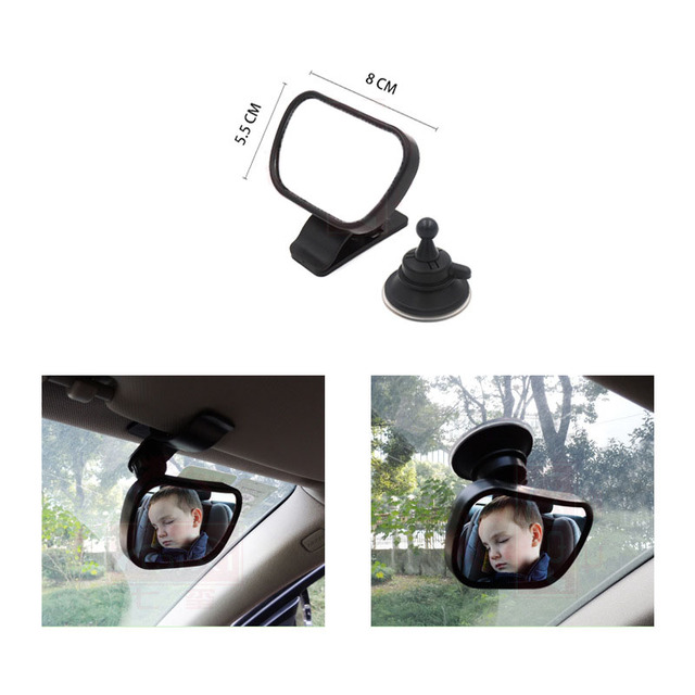 3in1 360 Car Safety Easy View Back Seat Mirror Baby Facing Rear Ward Child Infant Care Safety Baby Kids Monitor Car Mirror