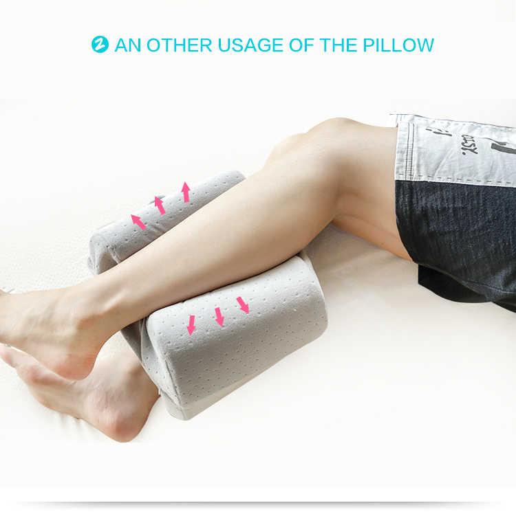 Busa Memori baru Lutut Kaki Bantal Hamil Untuk Wanita Luar Travel bantal Kaki Dukungan Tidur Bantal Tidur Bantal Almohada